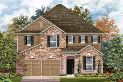 New Homes in Georgetown, TX - Plan A-3475 C