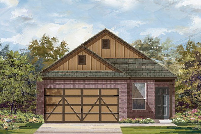 New Homes in Austin, TX - Plan F-1353 L
