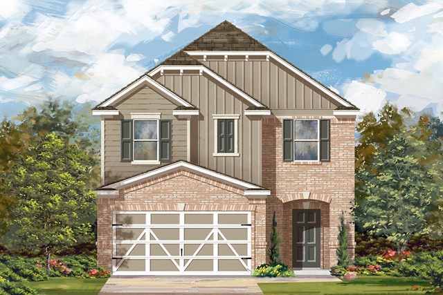 New Homes in Austin, TX - Plan F-1771 L