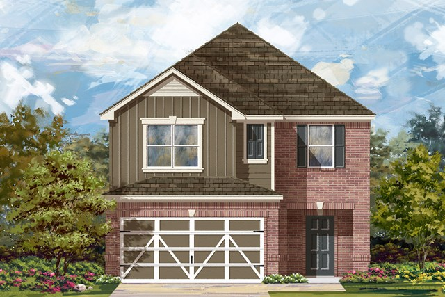 New Homes in Austin, TX - Plan F-2038 L