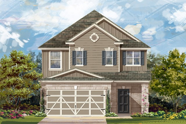 New Homes in Austin, TX - Plan F-2495 L