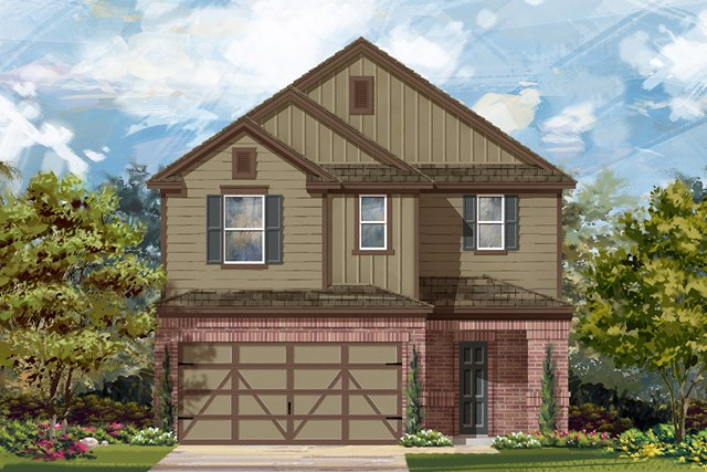 New Homes in Austin, TX - Plan F-2708 L