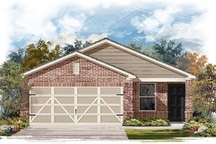 New Homes in Austin, TX - Plan F-1353 I