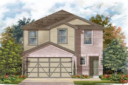 New Homes in Austin, TX - Plan F-1601 C