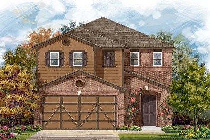 New Homes in Austin, TX - Plan F-1771 I