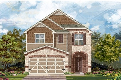 New Homes in Austin, TX - Plan F-1771 E