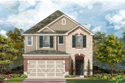 New Homes in Austin, TX - Plan F-2038 K