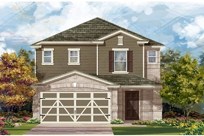 New Homes in Austin, TX - Plan F-2495 C