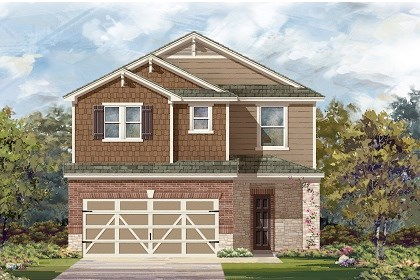 New Homes in Austin, TX - Plan F-2708 K