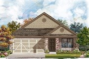New Homes in Austin, TX - Plan E-1647 Modeled
