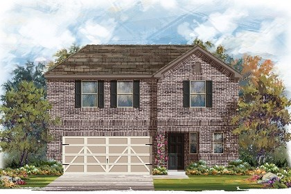 New Homes in Austin, TX - Plan E-2412 H