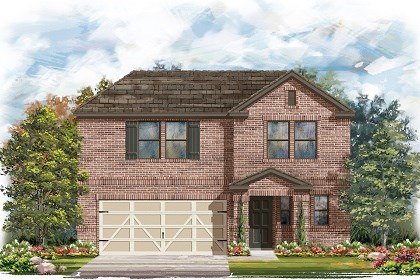 New Homes in Austin, TX - Plan E-2412 I