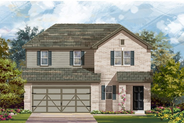 New Homes in Austin, TX - Plan E-2516 H