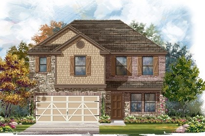 New Homes in Austin, TX - Plan E-2561 J