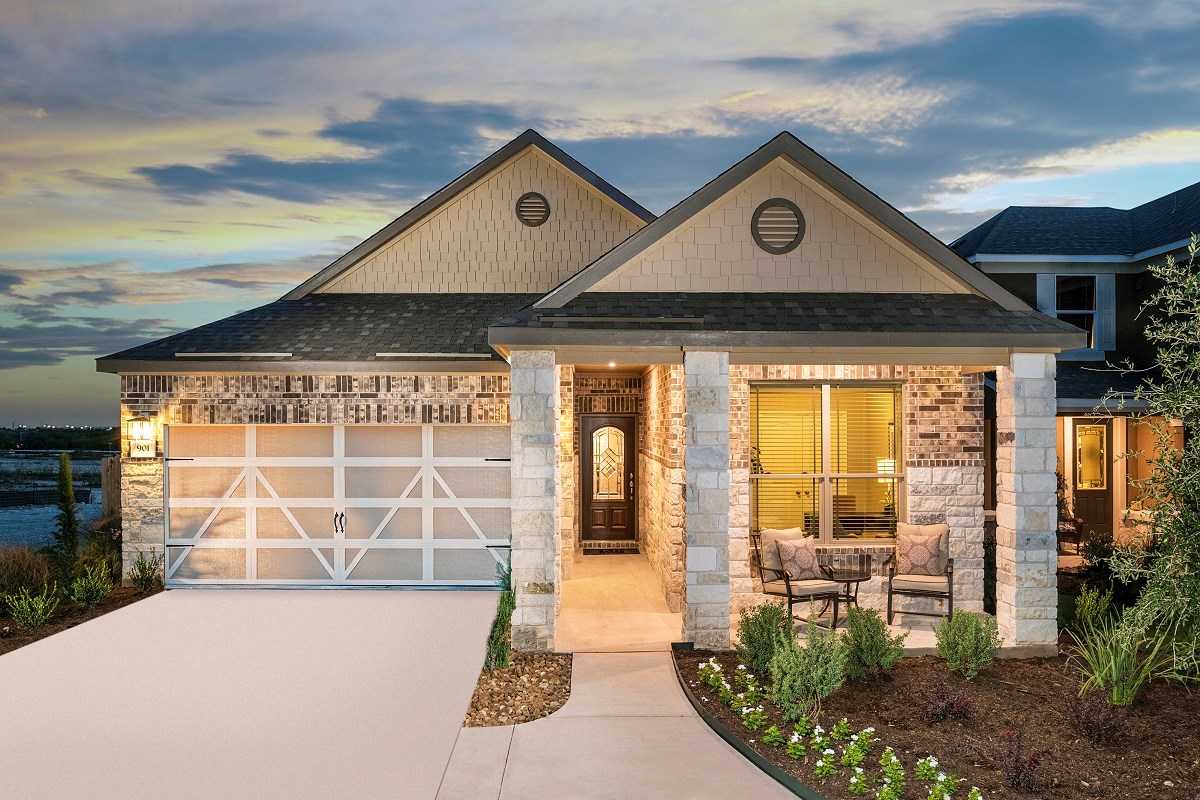 New Homes in Austin, TX - Landings at Wells Branch Plan E-1647