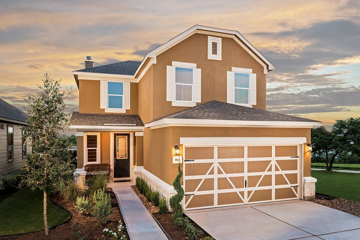 New Homes in Austin, TX - Landings at Wells Branch Plan F-2239