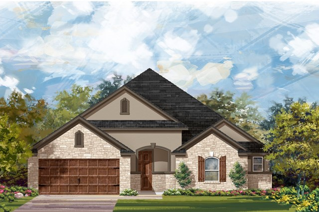 New Homes in Leander, TX - Plan L-2325 4
