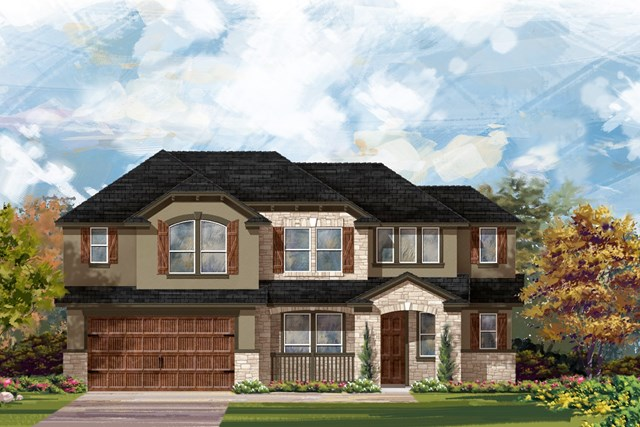 New Homes in Leander, TX - Plan L-2915 4