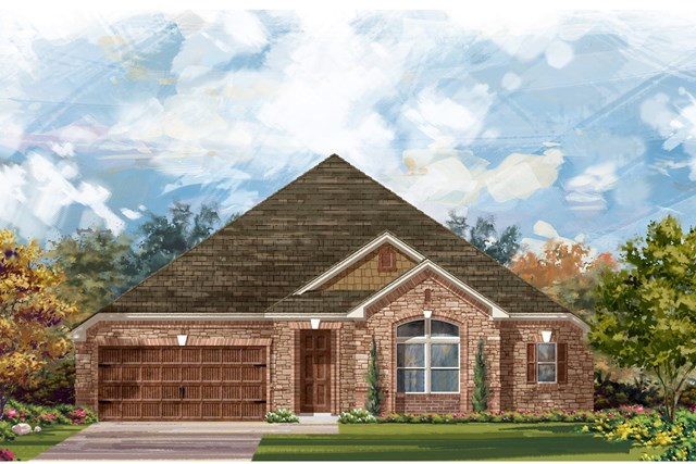 New Homes in Leander, TX - Plan L-3005 3