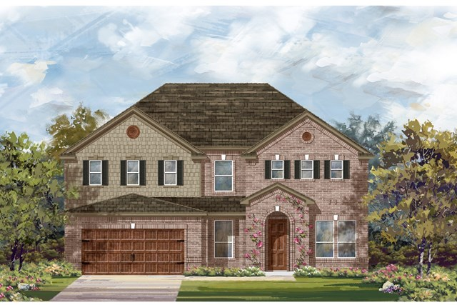 New Homes in Leander, TX - Plan L-3471 1