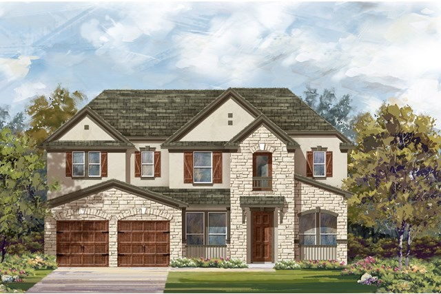 New Homes in Leander, TX - Plan L-3471 4