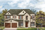 New Homes in Leander, TX - Plan L-3471 Modeled