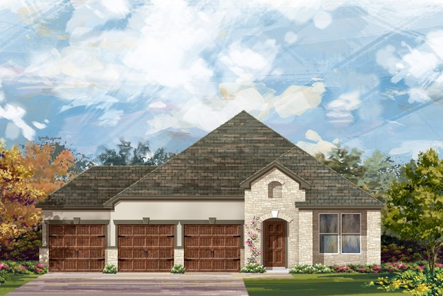 New Homes in Leander, TX - Plan A-2089 D
