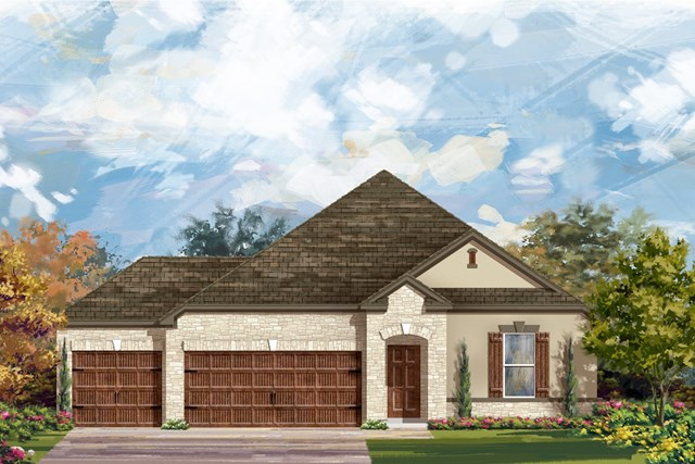 New Homes in Leander, TX - Plan A-2382 D