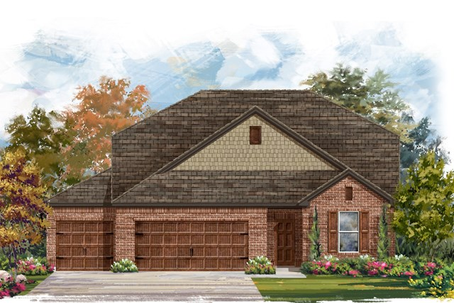 New Homes in Leander, TX - Plan A-2655 A