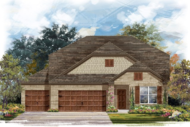 New Homes in Leander, TX - Plan A-2655 B