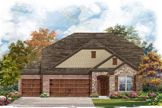 New Homes in Leander, TX - Plan A-2655 C