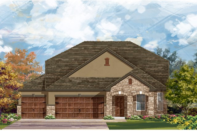 New Homes in Leander, TX - Plan A-2655 D