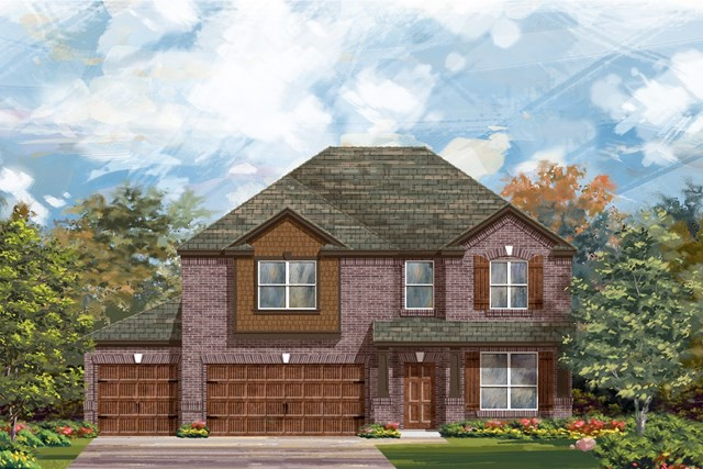 New Homes in Leander, TX - Plan A-2755 B