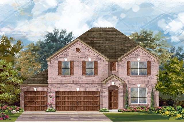 New Homes in Leander, TX - Plan A-3125 A