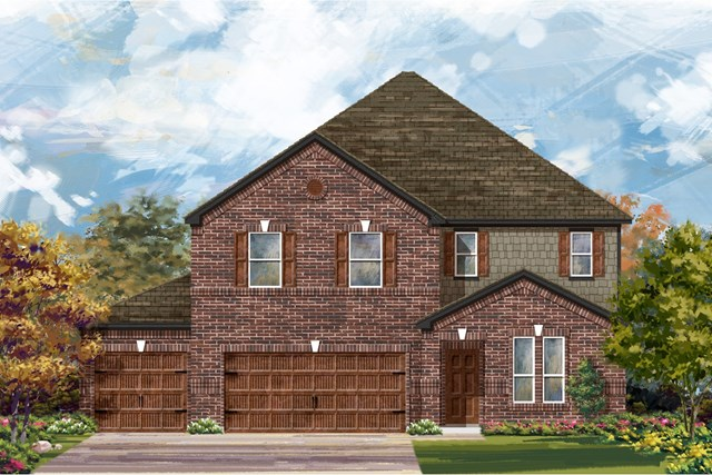 New Homes in Leander, TX - Plan A-3475 A