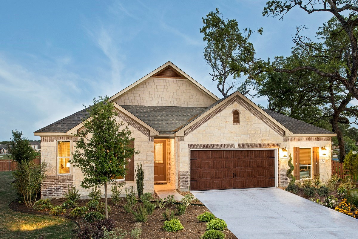 New Homes in Leander, TX - Mason Hills - The Lakes Hallmark Collection Plan A-1792