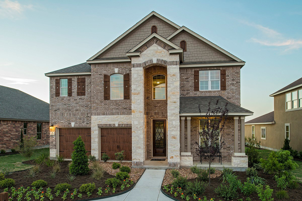 New Homes in Leander, TX - Mason Hills - The Lakes Classic Collection Plan A-2755