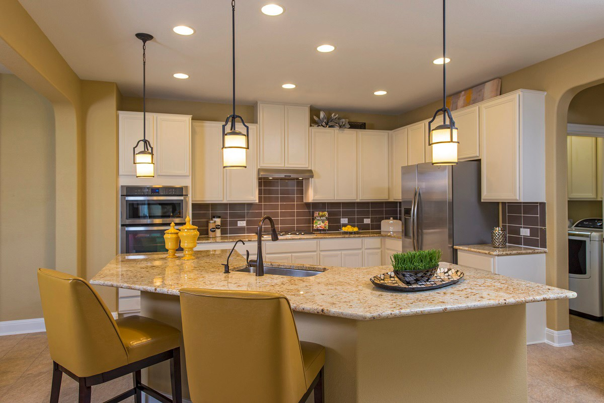 New Homes in Leander, TX - Mason Hills - The Lakes Classic Collection Plan A-2755 Kitchen