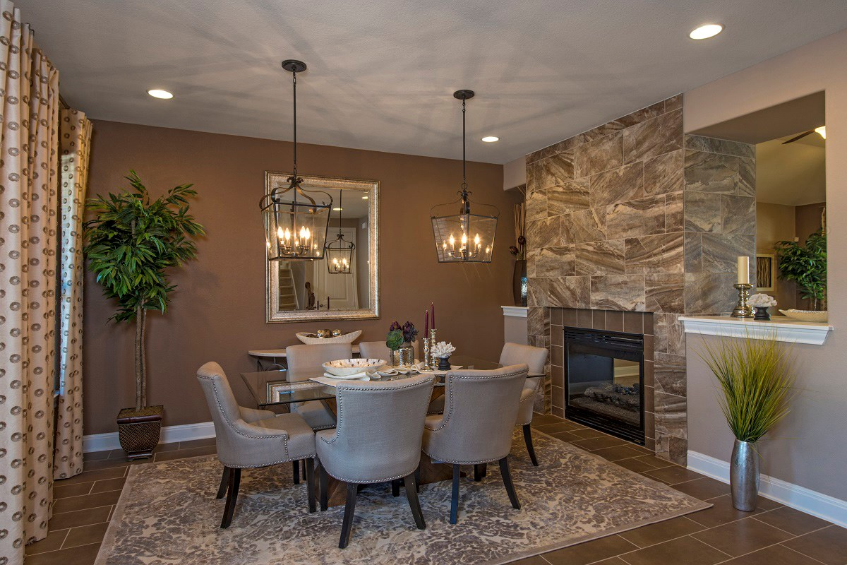 New Homes in Round Rock, TX - Forest Grove Plan L-2915 Dining Area