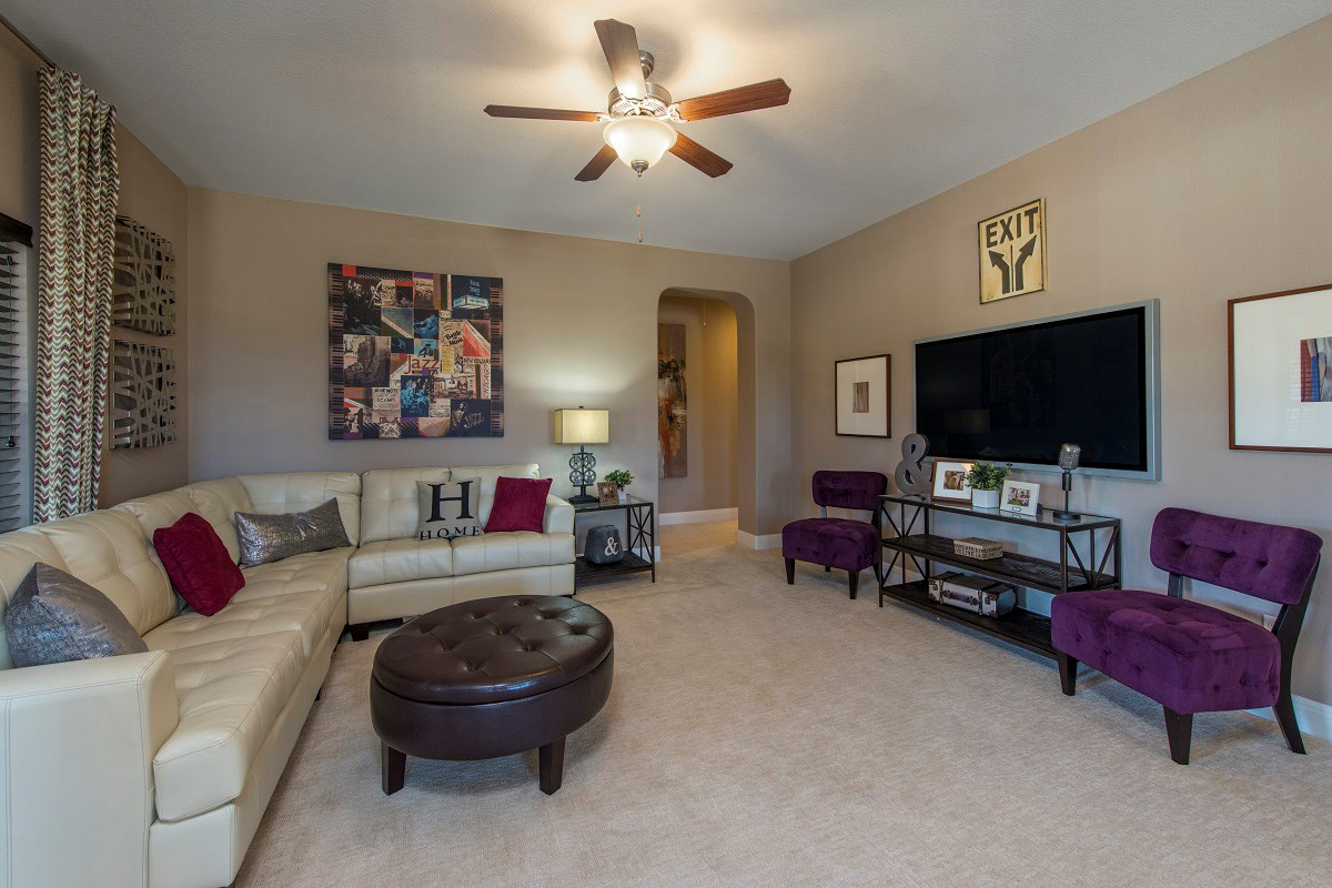 New Homes in Leander, TX - Mason Hills - The Bluffs The L-2915 Game Room