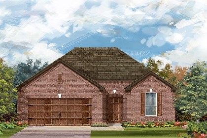 New Homes in Leander, TX - Plan A-1792 A