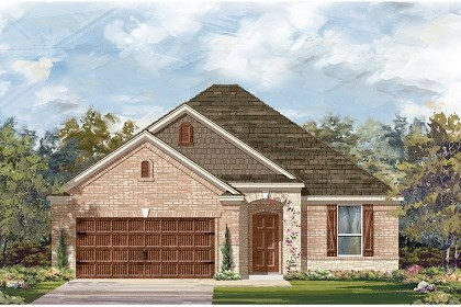 New Homes in Leander, TX - Plan A-1792 C