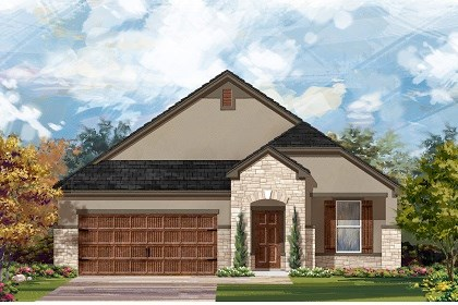 New Homes in Leander, TX - Plan A-1792 D