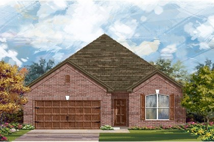 New Homes in Leander, TX - Plan A-1852 A