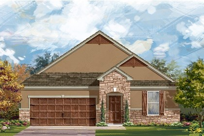 New Homes in Leander, TX - Plan A-1852 D