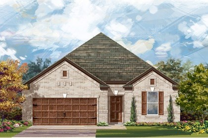 New Homes in Leander, TX - Plan A-1965 A