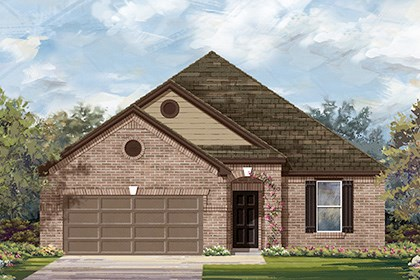 New Homes in Georgetown, TX - Plan A-1965 B