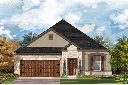 New Homes in Leander, TX - Plan A-1965 D