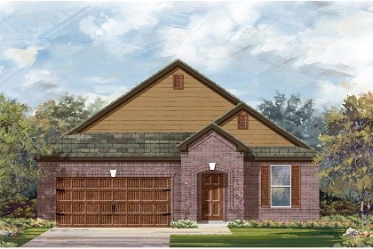 New Homes in Leander, TX - Plan A-2089 B
