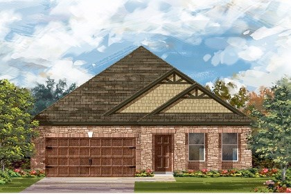 New Homes in Leander, TX - Plan A-2089 C